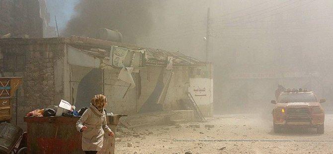 Esed'den Pazar Yerine Vakum Bombalı Saldırı: 30 Ölü