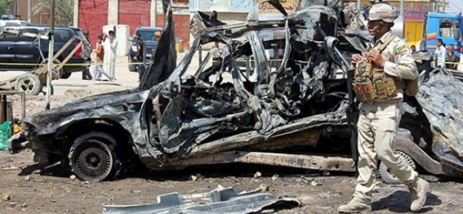 Bağdat'ta Bomba Yüklü Araç İnfilak Etti