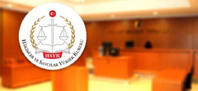 HSYK 156 Hakim ve Savcının Görev Yerini Değiştirdi