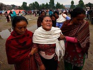Nepal'de Toprak Kayması