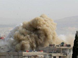 Esed Rejimi 28 Varil Bombasıyla Saldırdı