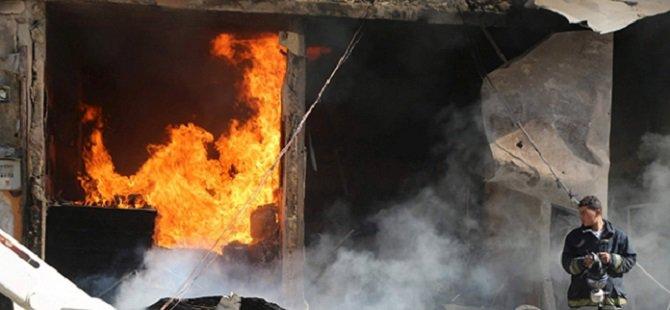 Esed Rejimi Vakum Bombasıyla Saldırdı