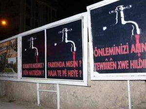 PKK'dan Bilbord Reklamı İle Kanlı Tehdit