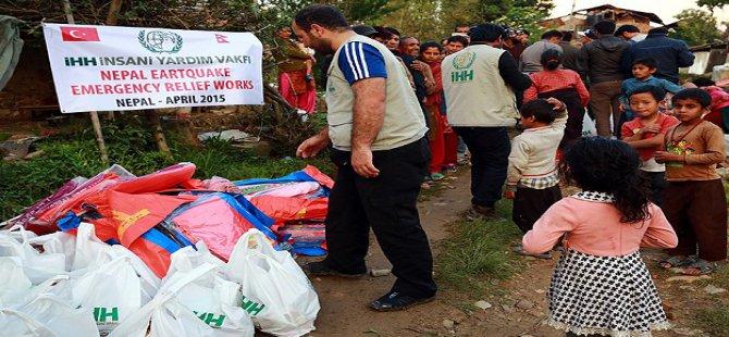 İHH Nepal'de İnsani Yardımlara Devam Ediyor
