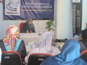 Kahramanmaraş'ta Çocuk ve Aile Eğitimi Semineri