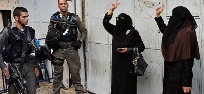 Kudüs'te 3 Filistinli Kadın Gözaltına Alındı