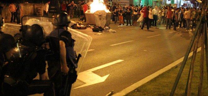 Makedonya'da Protesto: 55 Yaralı
