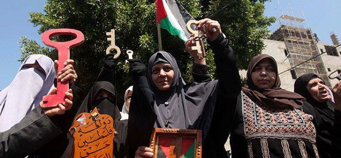"""Gazze'de """"Nekbe"""" Eylemi"""