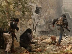 Direnişçiler ve Halep'in Özgürlüğü