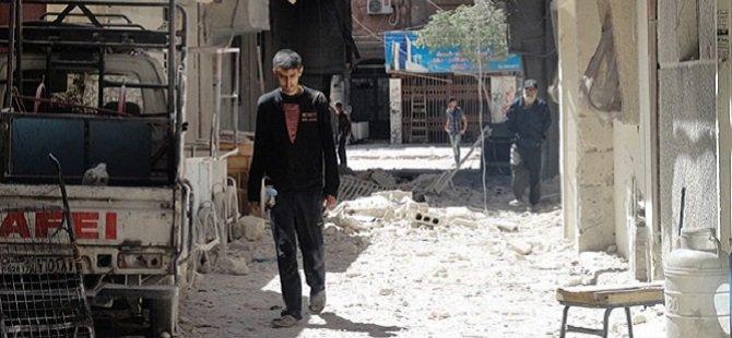 Yermuk Mülteci Kampı Sokakları Temizleniyor