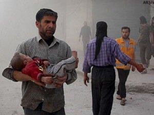 Esed İdlib'e Klor Gazıyla saldırdı