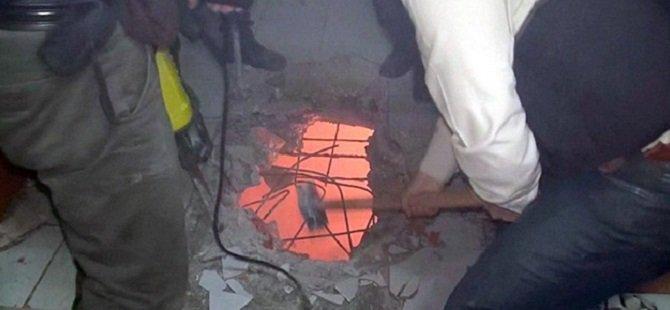 Polis DHKP/C Evine Ancak Tavanı Kırarak Girebildi