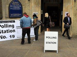 İngiltere'de Oy Verme İşlemi Sona Erdi