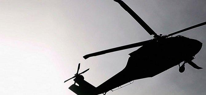 Pakistan'da Askeri Helikopter Düştü