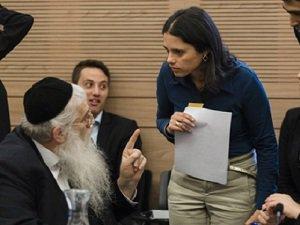 Irkçı Shaked Siyonist İsrail'in Yeni Adalet Bakanı Oldu