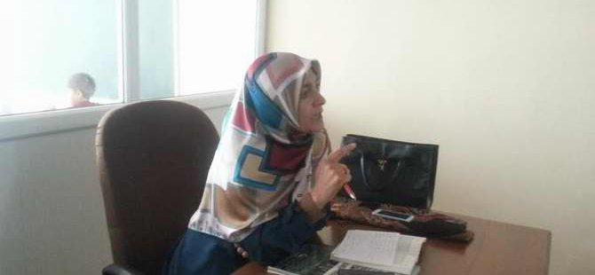 """Muş Özgür-Der'de """"Müslüman Kadın Nasıl olmalı?"""" Konuşuldu"""