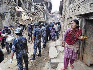 Nepal'deki İkinci Depremde 36 Kişi Öldü