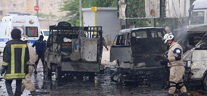 Esed Güçleri Minibüs Duraklarına Varil Bombasıyla Saldırdı