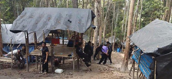 Tayland'da Yeni Bir Gizli Göçmen Kampı Bulundu