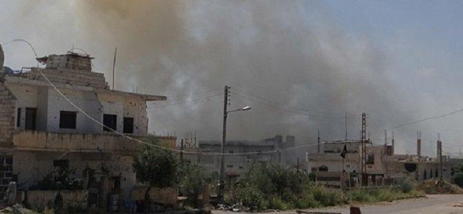 Suriye'de Bir Okula Bombalı Saldırı