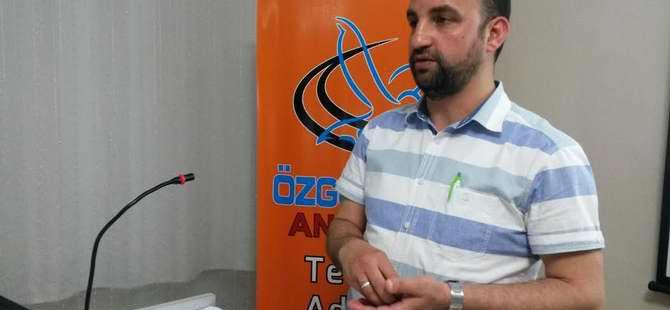 """Özgür-Der Antalya'da """"Tunus'da Devrim Süreci"""" Konuşuldu"""