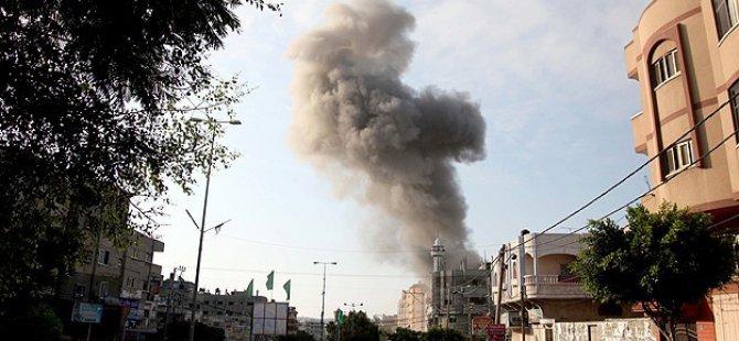 Gazze'de Patlama: 50 Yaralı
