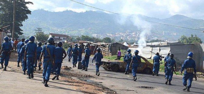 Burundi'de Ordu Yönetime El Koydu