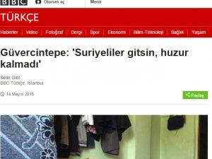 BBC'den Suriyeliler Gitsin Provokasyonu