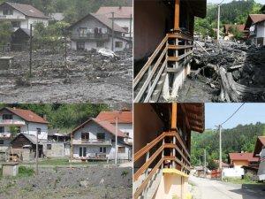 Bosna'da Sel Felaketinin Bıraktığı İzler Hala Duruyor