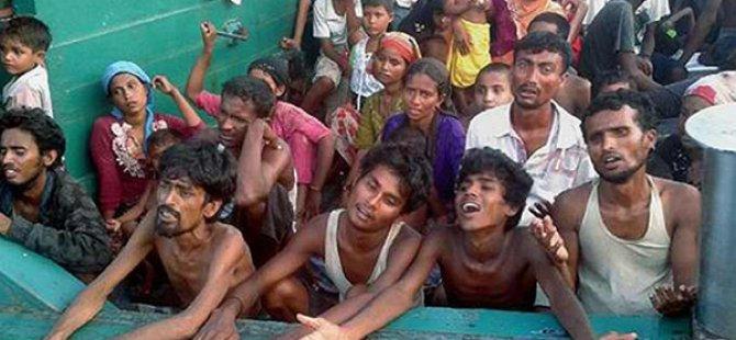 Arakanlı Müslüman Mülteciler Ölüyor!