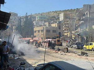 İdlib'de Vakum Bombalı Saldırılarda 47 Müslüman Can Verdi