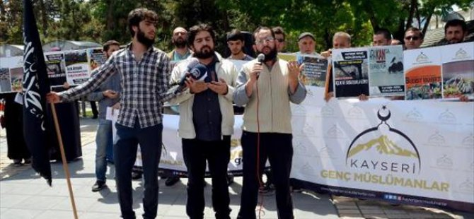 Kayseri Genç Müslümanlar Derneği'nden Arakan'a Destek