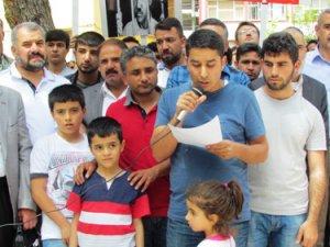 Siverek'te Sisi Cuntasının İdam Kararları Protesto Edildi