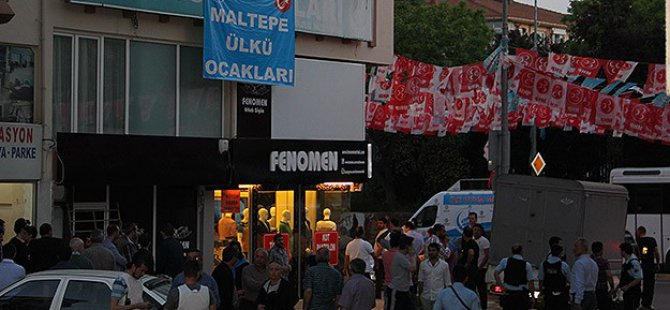 Ülkü Ocakları İle Türk Ocakları Üyeleri Arasında Kavga
