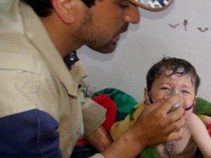 Esed Güçleri Çocuk ve Bebekleri Klorin Gazı İle Vurdu
