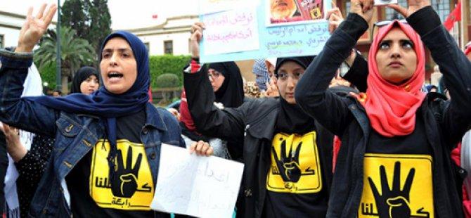 Cuntanın İdam Kararları Fas'ta Protesto Edildi