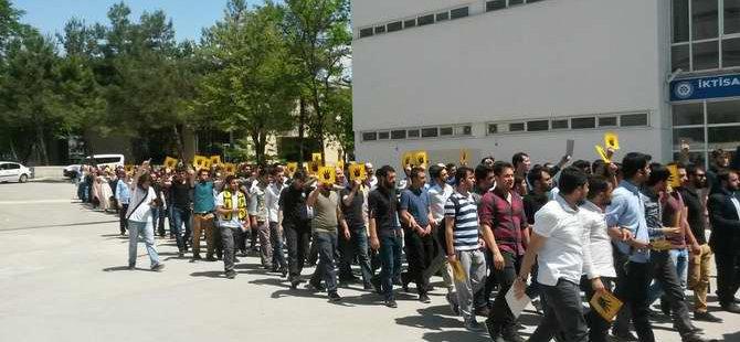 Uludağ Üniversitesi'nde Mısır Direnişi Selamlandı