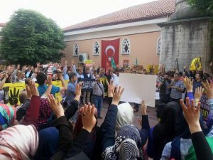 Bartın'da Sisi Cuntasının İdam Kararları Protesto Edildi
