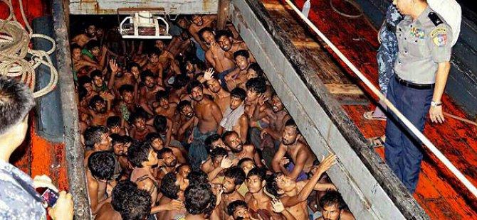 2 Bin Arakanlı Müslüman Kurtarılmayı Bekliyor