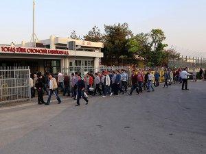 Tofaş'ta İşçilerin Eylemi Sona Erdi