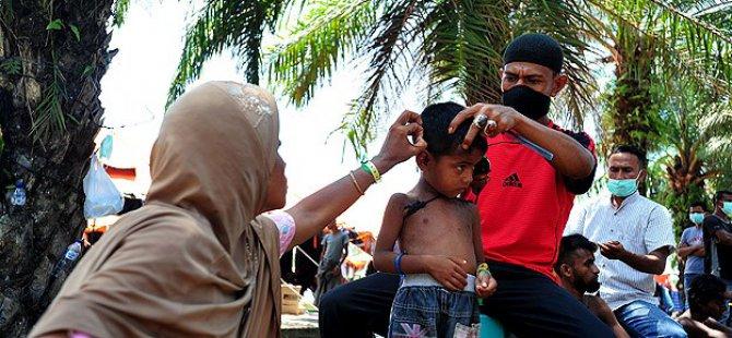 Rohingyalar Açe'de Yaşam Mücadelesi Veriyor