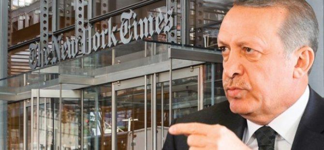 New York Times: ABD ve NATO Erdoğan'ı Durdursun!