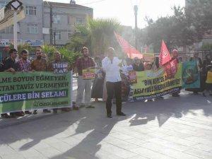Arnavutköy'de İhvan'a Destek Eylemi