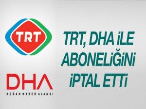 TRT, Doğan Haber Ajansıyla Aboneliğini İptal Etti