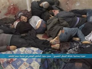 Esed Rejiminden Kurtarılan Cisr-eş Şuğur'dan Görüntüler