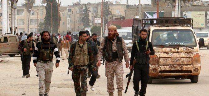 İdlib'de Bakanlık Kurup Türk Lirasına Geçtiler