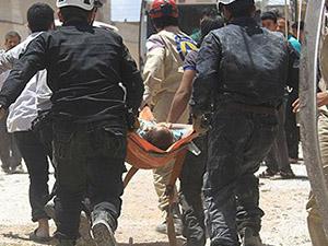Halep ve İdlib'te Varil Bombalı Saldırı