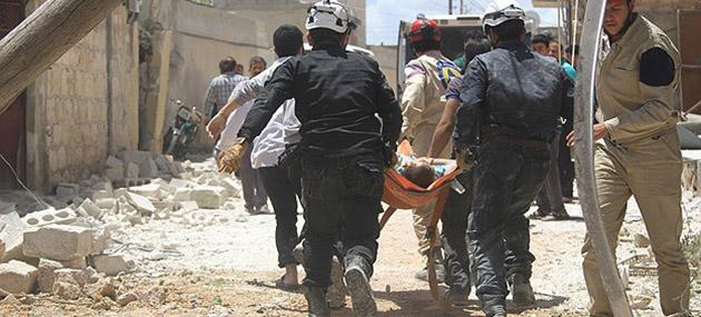 Halep'te Yine Varil Katliamı: 54 Ölü