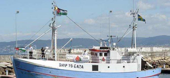 Gazze'ye Yardım İçin Yola Çıkan Gemi İspanya'ya Ulaştı