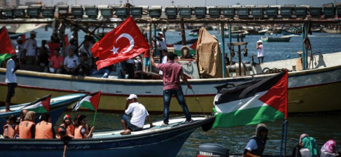 'Gazze Mavi Marmara Şehitlerini Unutmayacak'